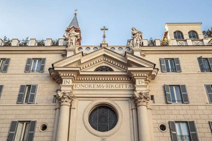 Santa Brigida di Svezia: la chiesa intitolata