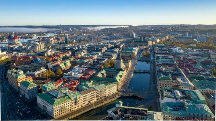 Göteborg, una vista dall'alto