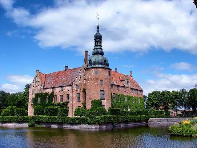 il castello di Kristianstad, Svezia